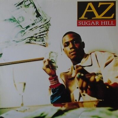 "AZ - Sugar Hill ~ 12"" Single PS US PRESS"