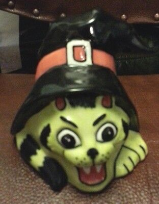 Lorna Bailey HELLO-WEEN cat excellent condition FREE P&P  #