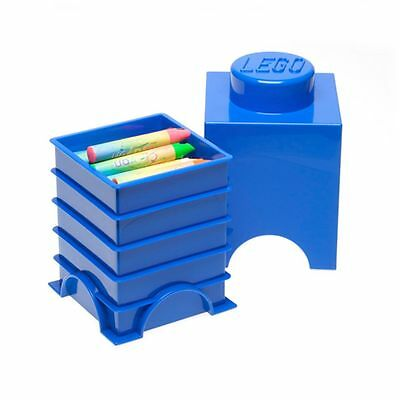 Lego Blue Brick Storage 1 Kids Playroom Toys Box