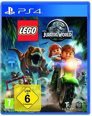 LEGO Jurassic World - PS4 Playstation 4 Spiel - NEU OVP