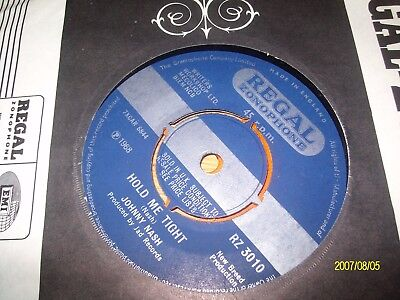 johnny nash /hold me tight/bw..lets move and groove together