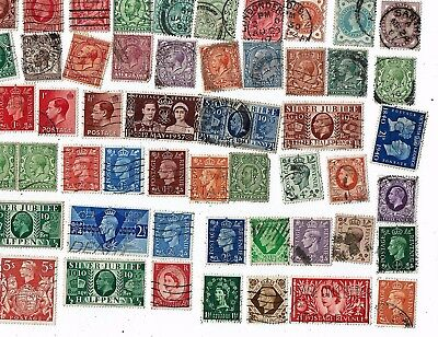 Great Britain Postage Stamps Mixed Lot As Shown (1)