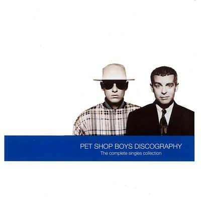 Pet Shop Boys Discography The Complete Singles Collection Cd (Greatest Hits)