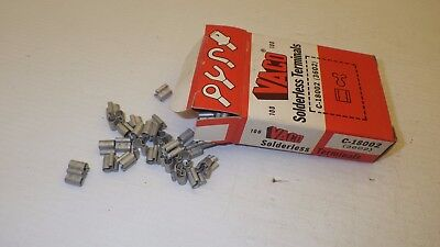 Vaco C-18002 (3602) Electrolytic Copper Solderless Terminals (Qt. 100) Nib