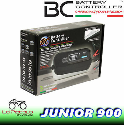 Carica Batterie Moto Quad Scooter Bc Battery Controller Junior 900