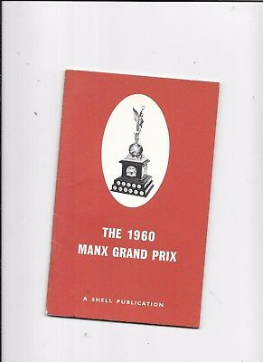 Isle Of Man Manx Grand Prix  Races 1960 A Shell Publication