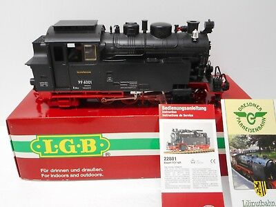 LGB 22801 DR 2-6-2 Steam Engine with Lights & Smoke G Scale