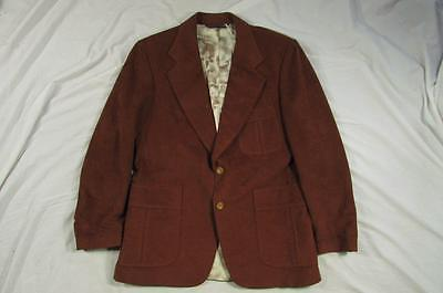 Vtg 60s Hal Martin Hollywood Patch Pocket Blazer Sport Coat Made in Philadelphia