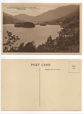 Glengyle The Birthplace Of Rob Roy Vintage Postcard Perthshire