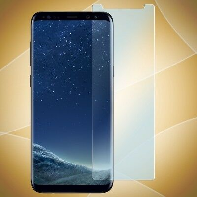 Samsung Galaxy S8 Panzerglas Folie Display Schutz Folie Glass Handy Displayfolie