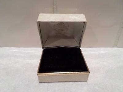 Vintage Jewellery Box. Antique Jewelry Case. Old Retro Jewellers Ring Box