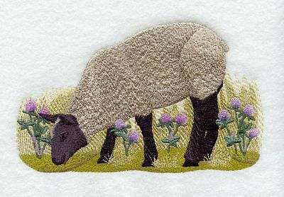 Embroidered Sweatshirt - French Sheep G1966