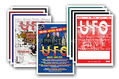UFO - 10 promotional posters  collectable postcard set # 1
