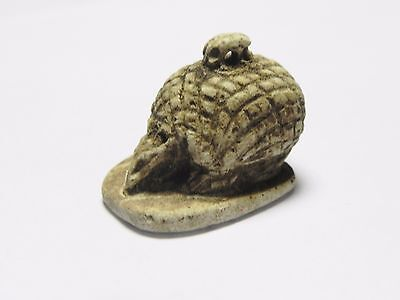 Zurqieh -Af952- Ancient Egypt - Faience Amulet Of A Hedgehog , 664 - 332 B.c