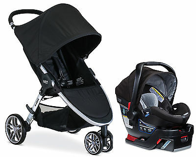 Britax 2017 B-Agile Stroller & B-Safe 35 Elite Travel System Prescott NEW!