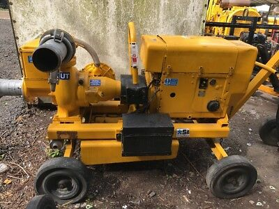 Selwood S150 Silent Diesel Water Pump On Wheels
