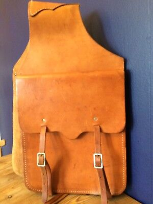 Fabulous Leather American Style Saddle Bags, Great Condition