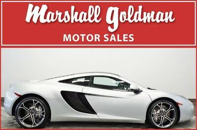 2013 McLaren MP4-12C  2013 McLaren MP4-12C Silver with Black fresh service only 2,500 miles