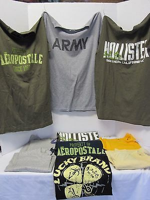 Lot Of 10-Mens/boys T Shirts/muscle Shirts-Size Small-Designer Style-Nice-7