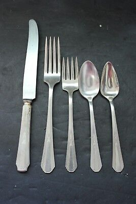 Rogers Silverplate Paris 8 Place Setting 65 Piece