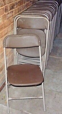 Job Lot Of 45 Samsonite 2200 Series Stacking Folding Chairs  All Strong & Sturdy