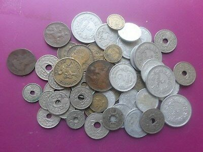 53  Old Coins Of France.1911 - 1950.