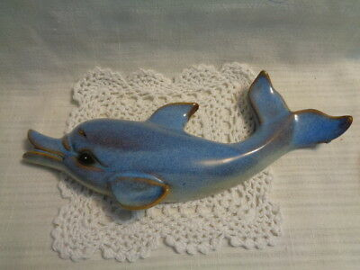 Pottery Type Material - Dolphin Shaped - Wall Hanging