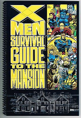 X-Men Survival Guide To The Mansion Marvel Comics 1993 Nm Unread High Grade
