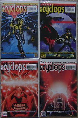 Cyclops #1-4 Icons Marvel Comics (4) Comic Complete Set 2001 NM X-Men Texeira