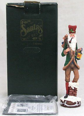 Roman Galleria Lucchese American Santa Through The Decades 1830 Pencil Figurine