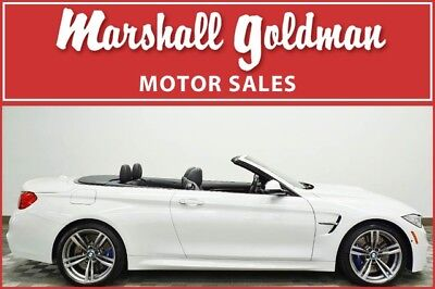 2016 BMW M4 Base Convertible 2-Door 2016 BMW M4 Convertible Alpine White with Black only 6400 miles