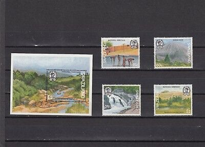 a133 - SWAZILAND - SG583-MS587 MNH 1991 NATIONAL HERITAGE