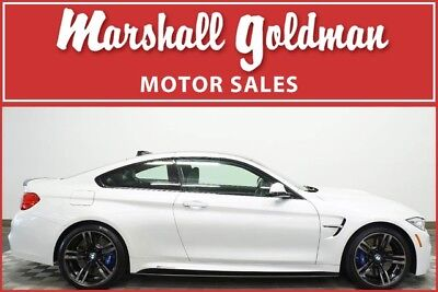 2016 BMW M4  2016 BMW M4 Mineral White Metallic with Black only 6,800 miles