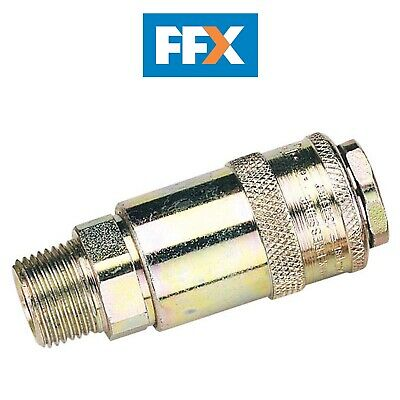 DRAPER 37835 3/8in Male Thread PCL Tapered Airflow Coupling