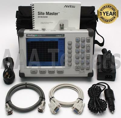 Anritsu SiteMaster S820D Broadband Cable & Antenna Analyzer Site Master S820