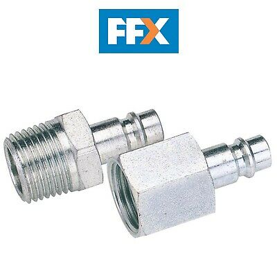 DRAPER 54419 1/4in BSP Female Nut PCL Euro Coupling Adaptor