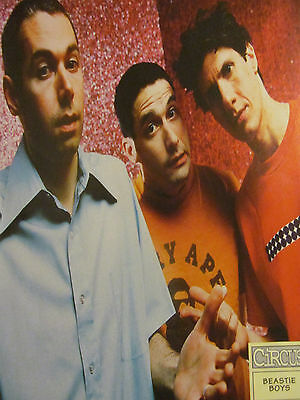 The Beastie Boys, Full Page Vintage Pinup