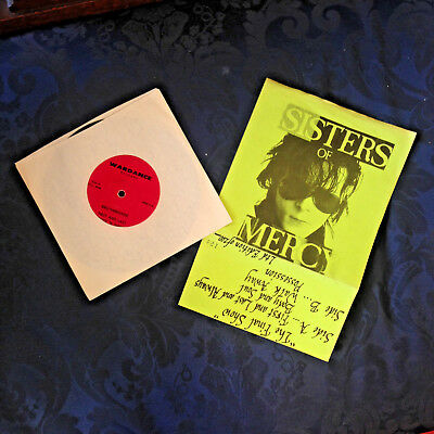 "Sisters of Mercy - Final Show 7"" Ltd Edition 1 of 200"