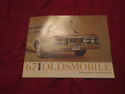 Parts & Accessories Other Car Manuals 1967 OLDSMOBILE