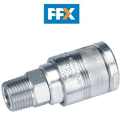"DRAPER 25815 1/2"" BSP Male Thread Air Line Coupling (Sold Loose)"