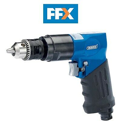 DRAPER 28829 Reversible Air Drill with 10mm Geared Chuck