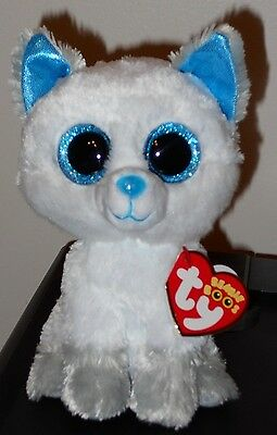 """Ty FROST the Canada Exclusive Arctic Fox Beanie Boos 6"""" MWMT 2017 NEW ~VERY RARE"""