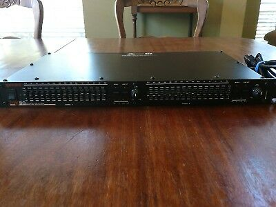 Gemini EQX 30 Graphic Equalizer // 15 bands per channel