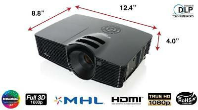 Optoma HD141X DLP Projector - FULL HD 1080P 3D  (BRAND NEW)