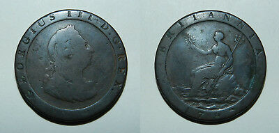 GREAT BRITAIN : CARTWHEEL PENNY 1797 - Australian Colonial Coin