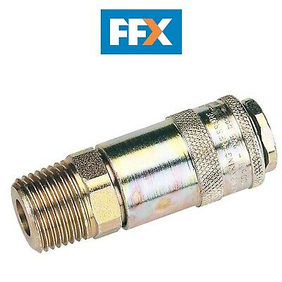 "DRAPER 37838 1/2"" Male Thread PCL Tapered Airflow Coupling"