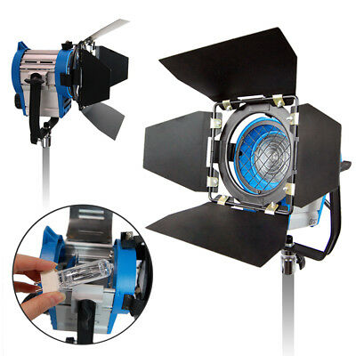 300 Watt Photography Barn Door Studio Photo Continuous Lighting Light Spotlight
