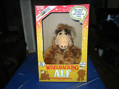 "Vintage 1987, ""wisecracking Alf!""-- Works Plus Box! Rare Gem!"