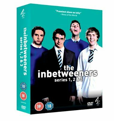 The Inbetweeners - Series 1-3 - Complete [DVD] - DVD  V0VG The Cheap Fast Free