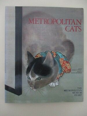 Metropolitan Cats, hard cover, 112pp 1st edition, published in USA ,1981. cs5980